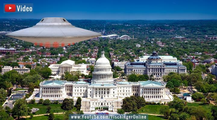 """US-Senator im Interview: """"Hoffentlich sind UFOs Außerirdische und nicht aus einem anderen Land!"""" (Bilder: PixaBay/gemeinfrei / Montage: Fischinger-Online)"""