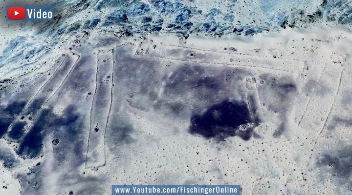"""VIDEO: Das """"Nazca von Saudi-Arabien"""":- Rätsel um die 7.000 Jahre alten Bodenstrukturen in der Wüste! (Bild: Google Earth)"""