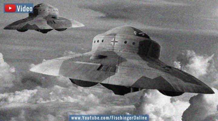Freigegebene UFO-Akten der CIA: Was wusste der US-Geheimdienst von Reichsflugscheiben wirklich? (Bilder: gemeinfrei / Montage: Fischinger-Online)
