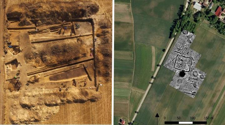 5500 Jahre alt: In Polen wurde einer der größten Steinzeitfriedhöfe entdeckt (Bilder: J. Bulas/Nauka w Polsce)