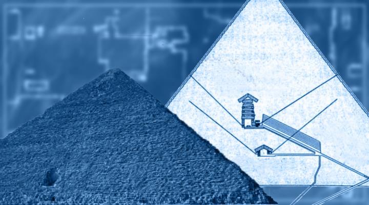 Die Baupläne und Aufzeichnungen des Pyramidenbau - wo sind die Blaupausen der Pharaonen geblieben? (Bilder: gemeinfrei & Fischinger-Online / Montage: Fischinger-Online)