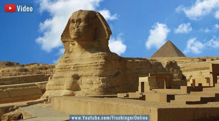 VIDEO: Die Sphinx von Gizeh ist 12.000 Jahre alt! Sagt ein Geologe: Die Hintergründe (Bild: Fischinger-Online)