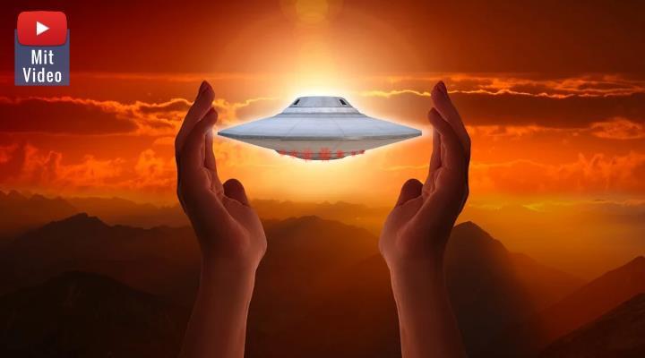 """UFO-Sekte in Bayern: Der """"Alien-Guru"""" muss wegen schweren Kindesmissbrauch in 75 Fällen über 6 Jahre ins Gefängnis! (Bilder: gemeinfrei / Montage: Fischinger-Online)"""