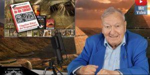 Auf den Spuren der Götter aus dem All: Erich von Däniken startet eigenen Podcast mit Gästen (Bild: Screenshot E. v. Däniken / YouTube)