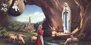Bernadette Soubirous und die angeblichen Marienerscheinungen von Lourdes (Bild: gemeinfrei)