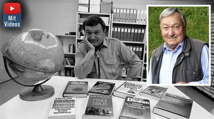 Erich von Däniken wird 86: Alles Gute an den Altmeister der Prä-Astronautik und Ancient Aliens (Bilder: E. v. Däniken / Montage: Fischinger-Online)