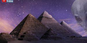 """VIDEO: Mythos über die Ancient Aliens: """"Außerirdische haben die Cheops Pyramide gebaut"""" (Bilder: gemeinfrei / Montage: Fischinger-Online)"""