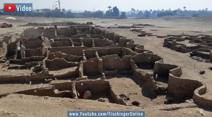 VIDEO: Sensation in Ägypten: Versunkene Stadt entdeckt - die größte Entdeckung seit Tutanchamun (Bild: Z. Hawass/Facebook)