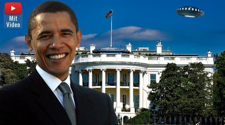 Barack Obama und seine Aussage zu UFOs: Doch wie viele Bestätigungen braucht es noch - und was bestätigte er eigentlich genau? (Bilder: gemeinfrei / Montage: Fischinger-Online)