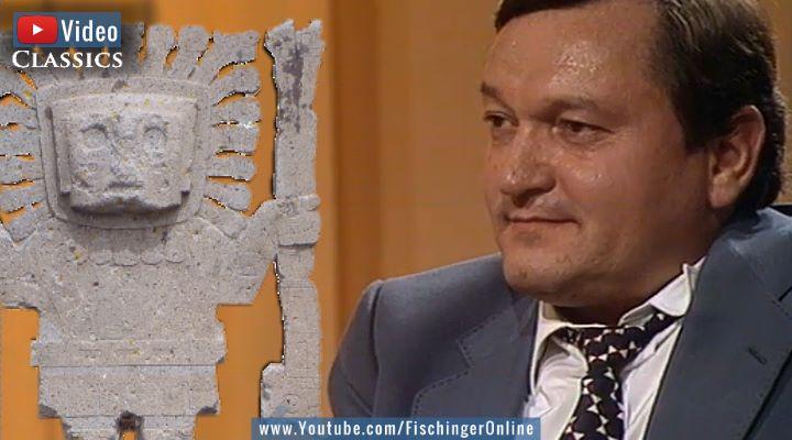 VIDEO: Grenzwissenschaft Classics, Folge 53: Erich von Däniken mit Gattin 1981 in einer TV-Talkshow - inkl. Überraschung! (Bilder: Screenshot YouTube & Fischinger-Online)