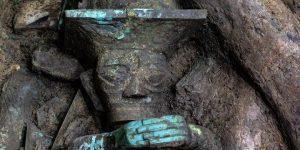 Neue Entdeckungen der rätselhaften Sanxingdui-Kultur in China (Bild: german-xinhuanet.com