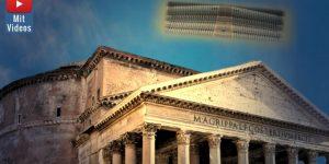 UFOs in der Antike - was erschien 214 vor Christus bei den alten Römern? Der fliegende Altar des Geschichtsschreiber Livius und seine Insassen (Bilder: gemeinfrei / Montage: Fischinger-Online)