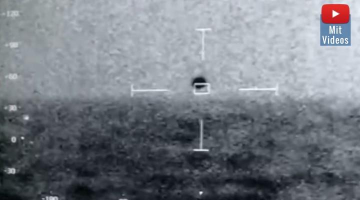 Und wieder: UFO-Video der US-Navy aufgetaucht! Zeigt es diesmal sogar ein USO, ein Unidentifiziertes Unterwasser-Objekt? (Bild: Screenshot YouTube e/ J. Corbell)