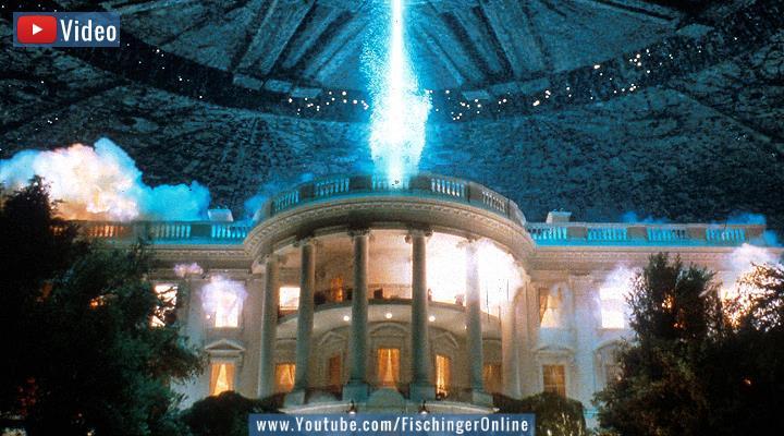 VIDEO: Der kommende UFO-Bericht der USA vs. 25 Jahre Independence Day (Bild: Screenshot YouTube/20th Century Fox)