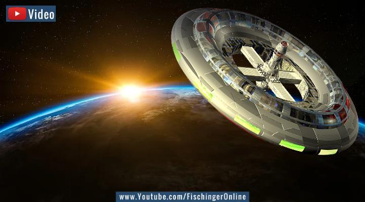 VIDEO: Atlantis war eine Raumstation von Ancient Aliens! Sagt ein deutscher Ancient Aliens-Autor - im ZDF (Bilder: PixaBay/gemeinfrei / Montage: Fischinger-Online)