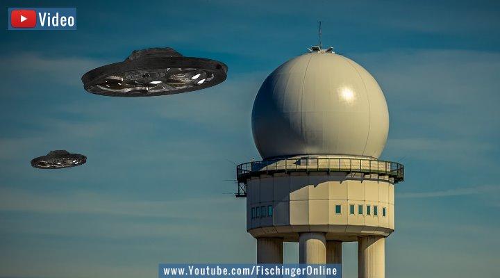 UFOs und das Phänomen der UAPs: Ein Astrobiologe wünscht eine globale, vollständige Luftraumüberwachung, um solche Sichtungen zu erforschen (Bilder: gemeinfrei / Montage: Fischinger-Online)