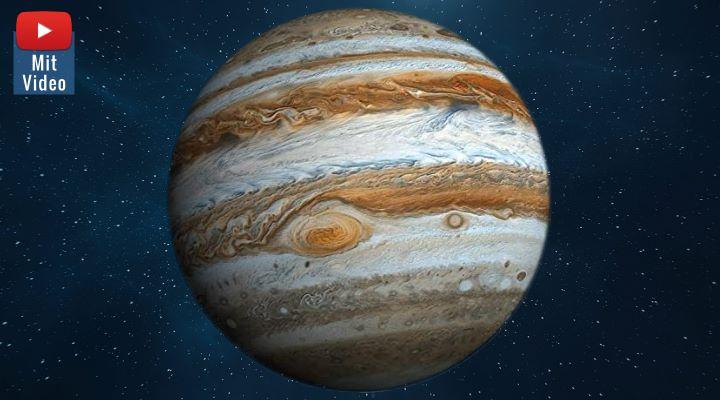 Russland will 2030 mit Atomkraft zum Mond, zur Venus und zum Jupiter fliegen (Bilder: gemeinfrei & NASA/ESA / Montage: Fischinger-Online)