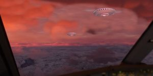 Hält das Pentagon 23 Minuten (eindeutiges) UFO-Filmmaterial zurück? (Bilder: gemeinfrei / Montage: Fischinger-Online)