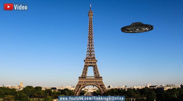 VIDEO: Neuer UFO-Bericht aus Frankreich - kein Vergleich mit dem Pentagon-Report (Bilder: gemeinfrei / Montage: Fischinger-Online)