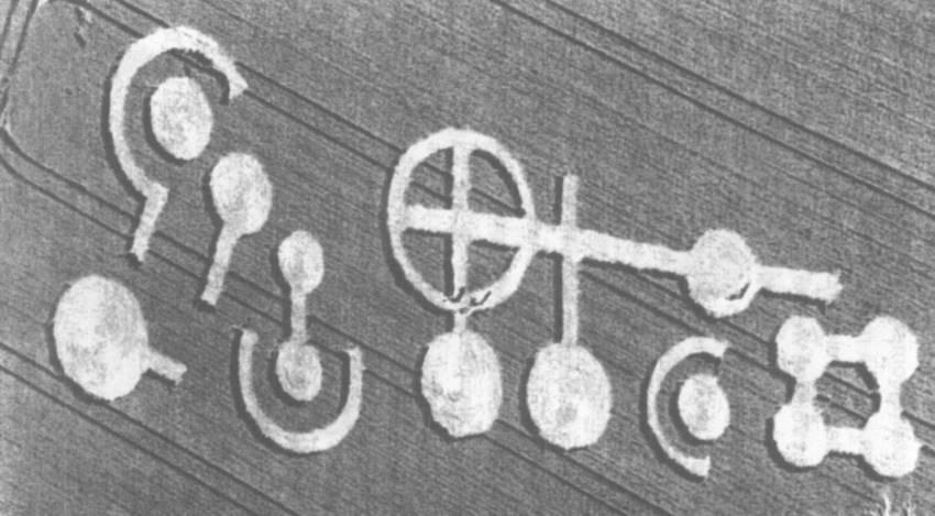 Das Piktogramm von Grasdorf im Juli (Bild: Archiv Fischinger-Online)