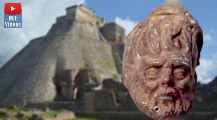 Waren römische Seefahrer vor fast 2000 Jahren schon im alten Mexiko? (Bilder: gemeinfrei/Archiv / Montage: Fischinger-Online)