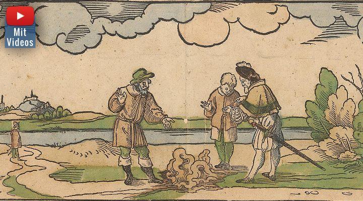 1550 zwischen Halle und Merseburg: Blut aus dem Inneren der Erde verängstigt die Menschen! (Bild gemeinfrei)