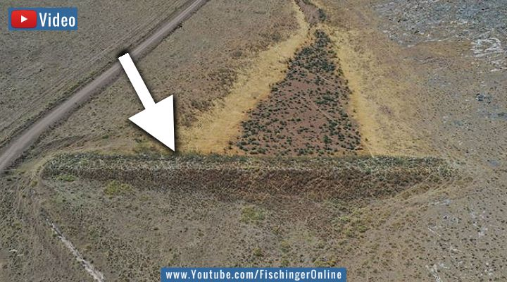 VIDEO: 2.000 Jahre alt! Der vergessene Staudamm der Römer in der Türkei (Bild: Google Earth / Bearbeitung: Fischinger-Online)
