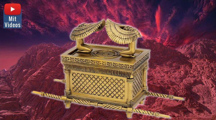 Die Bundeslade der Bibel: Das Original Gottes und die Kopie des Moses (Bilder: gemeinfrei & L. A. Fischinger / Montage: Fischinger-Online)