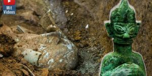 Die rätselhafte Sanxingdui-Kultur in China: Forscher geben neuen Entdeckungen bekannt (Bilder: Xinhua News / Montage: Fischinger-Online)