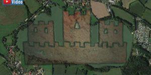 VIDEO: Die versunkene Burg nahe Kiel und die Strafe des Himmels (Bilder: A. Kramer & Google Earth / Montage: Fischinger-Online