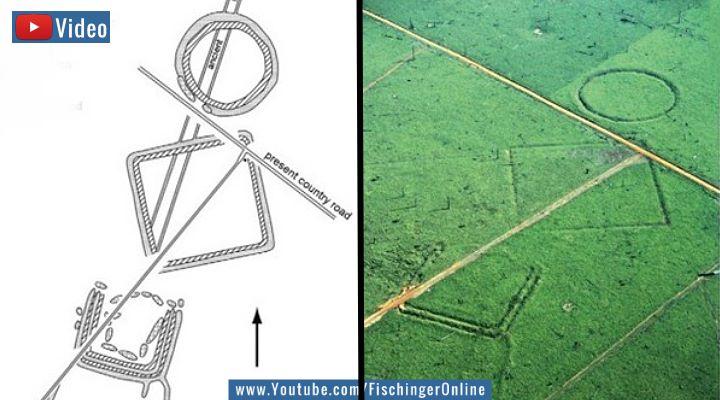 VIDEO: Geoglpyhen in Brasilien - Das Nazca im Regenwald (Bilder: J. Watling / Bearbeitung: Fischinger-Online)