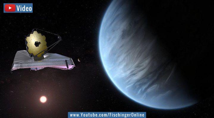"""VIDEO: Leben im Universum und das """"James Webb Weltraumteleskop"""": In 5 bis 10 Jahren finden wir (angeblich) den Beweis für Außerirdische (Bilder: NASA / Montage: Fischinger-Online)"""