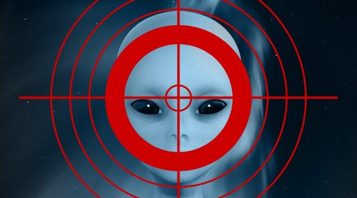 Mann in den USA schießt aus seinem Hotel auf angebliche Aliens (Bilder: gemeinfrei / Montage: Fischinger-Online)