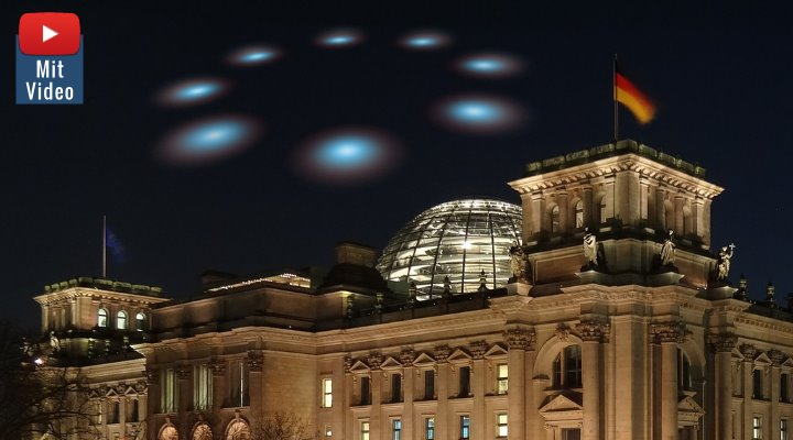 Universität Würzburg: UFO-Forschung für Deutschland? (Bilder: gemeinfrei / Montage: Fischinger-Online)