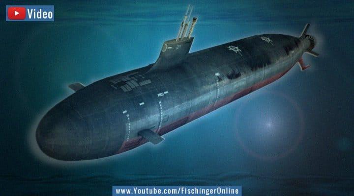 VIDEO: Atom-U-Boot der USA kollidierte mit Unterwasser-UFO (USO) (Bilder gemeinfrei / Montage Fischinger-Online)