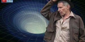 """VIDEO: Gerüchte um den kommenden Indiana Jones 5: Der Mystery-Jäger """"Indy"""" als Zeitreisender? (Bilder: gemeinfrei & Paramount Pictures / Montage: Fischinger-Online)"""