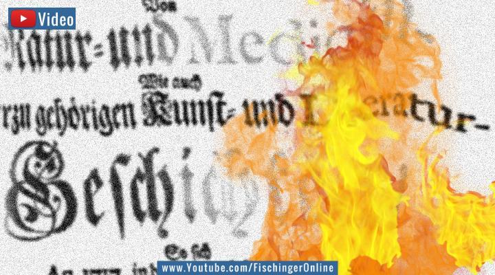 VIDEO: Himmelszeichen und unerklärliches Feuer über Norddeutschland in einer über 300 Jahre alten Chronik (Bilder: gemeinfrei / Bearbeitung: Fischinger-Online)