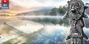 Rethra, Das Atlantis der Heiden nahe der Ostsee - und die Jahrhundertfälschung in der Geschichte Mecklenburgs (Bilder: gemeinfrei & WikiCommons CCO/RonnyKrüger / Montage: Fischinger-Online)