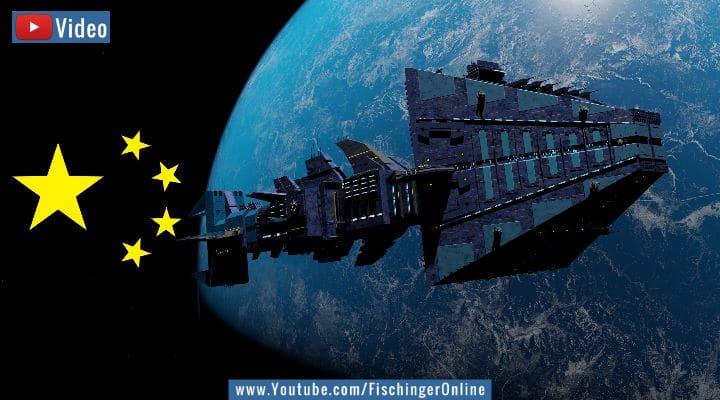 VIDEO: China plant ein 1 Kilometer langes Raumschiff! (Bilder: PixaBay/gemeinfrei / Montage: Fischinger-Online)
