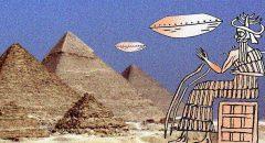"""""""Antike Texte sagen, ein außerirdischer Gott baute die Große Pyramide"""": Schockierendes über die Anunnaki in der Mainstream-Boulevardpresse"""