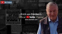 Erich von Däniken goes YouTube: Der Altmeister der Prä-Astronautik geht mit einem offiziellen YouTube-Kanal online (+ Videos)