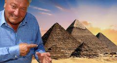 Mit Erich von Däniken und seinen Lesern in Ägypten: Erstaunlich positives Feedback in der Mainstreampresse